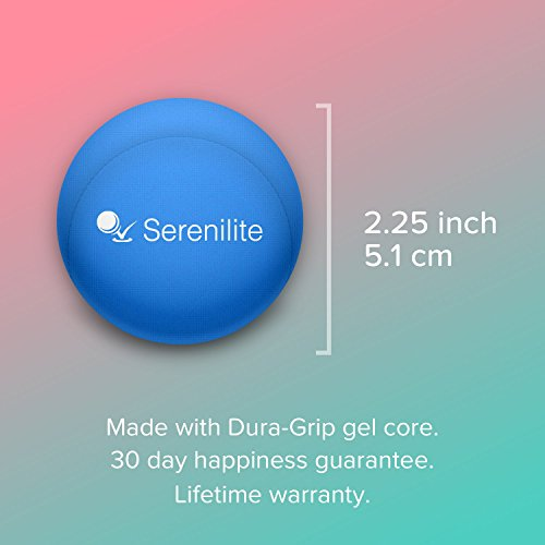 Serenilite Hand Therapy Stress Ball - Blue Skies