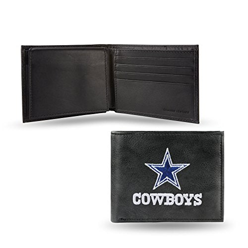 Nfl Rico Industries  Embroidered Leather Billfold Wallet, Dallas Cowboys