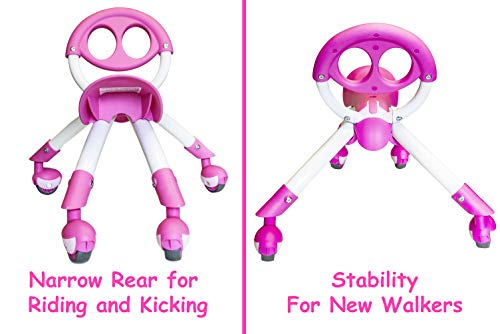 Pewi Walking Ride On Toy   From Baby Walker To Toddler Ride On For Ages 9 Months To 3 Years Old