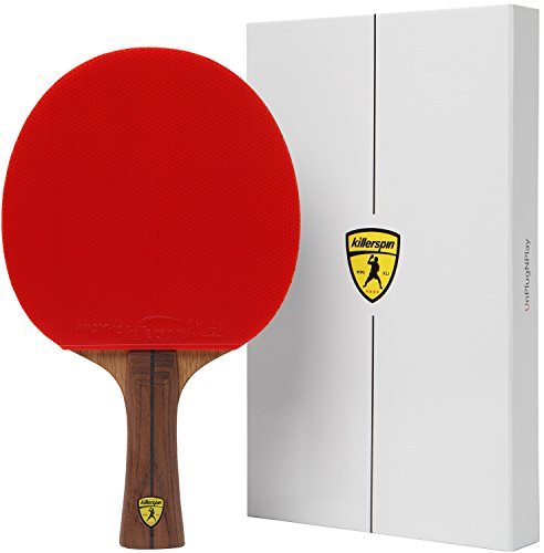 Killerspin Jet 800 Table Tennis Paddle, Professional Ping Pong Paddle, Table Tennis Racket With Carb