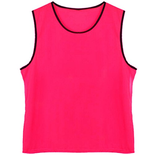 DreamHigh 12 pack Soccer Team Sports Trainning Vest Youth Pink