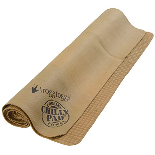 "Frogg Toggs Chilly Pad Cooling Towel, Sand, Size 33"" x 13"""