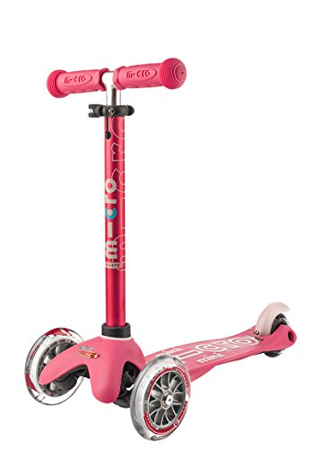 Mini 3in1 Deluxe 3-Stage Ride-on Micro Scooter Toddler Toys for Ages 12 Months to 5 Years - Pink