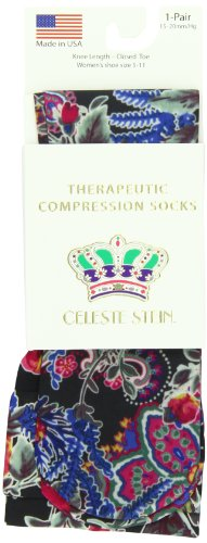 Celeste Stein Therapeutic Compression Socks, Maria, 15-20 mmhg, 1 Pair