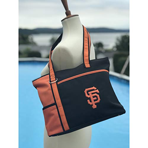 MLB San Francisco Giants Tote Bag with Embroidered Logo