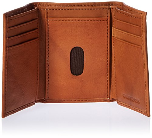 NFL Arizona Cardinals Embossed Leather Trifold Wallet, Tan