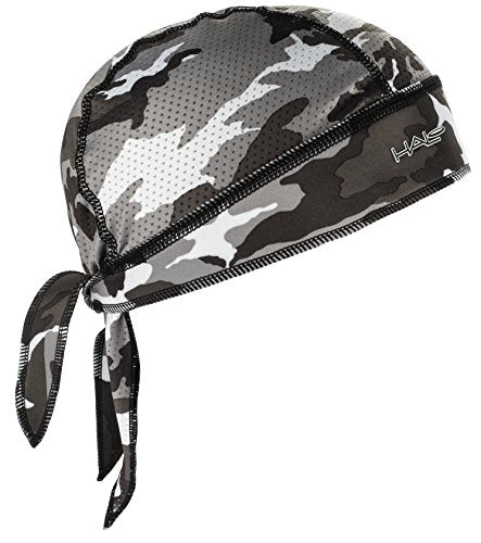 Halo Headband Bandana - Protex - The Ultimate High Performance Bandana, CAMO GREY