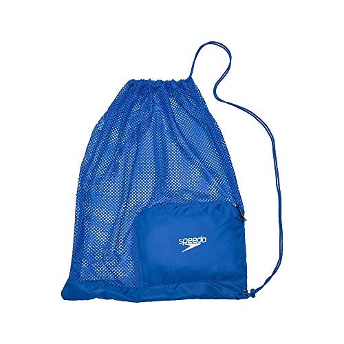 Speedo Ventilator Mesh Equipment Bag, Imperial Blue