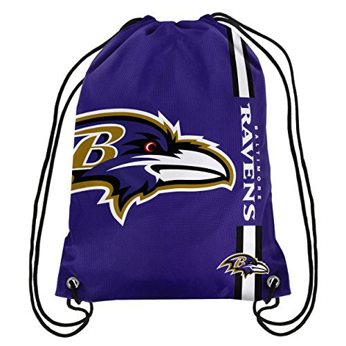 NFL Baltimore Ravens Big Logo Drawstring Backpack