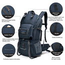 Image of Mountaintop 40L Hiking Backpack for Outdoor Camping