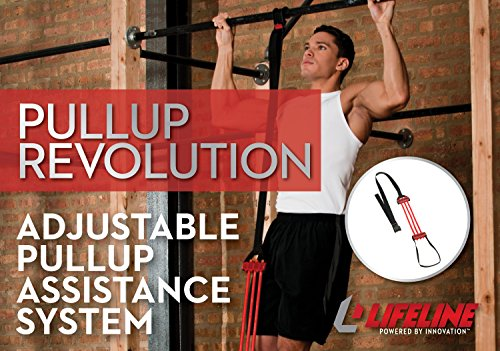Lifeline Pull Up Revolution Assistance System to Improve Arm, Shoulders and Chest Strength with Assisted Pull Ups and Chin Ups