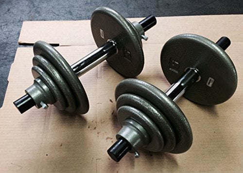 Ivanko Cast-Iron Dumbbell Set (Maximo 45)