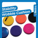 Image of Inflated Stability Wobble Cushion, Including Free Pump / Exercise Fitness Core Balance Disc,Blue,size: 13 inches / 33 cm diameter