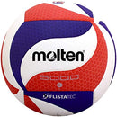 Image of Molten FLISTATEC Volleyball - Official Volleyball of USA Volleyball, Red/White/Blue