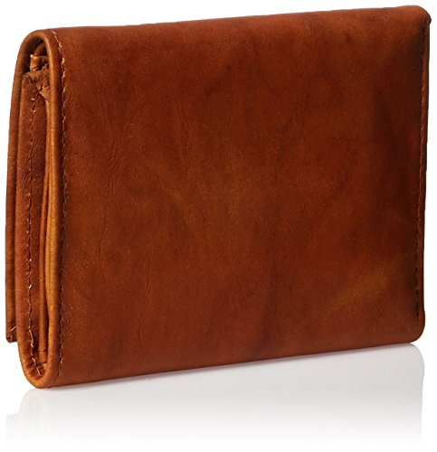 Rico Industries NCAA North Carolina Tar Heels Embossed Leather Trifold Wallet, Tan