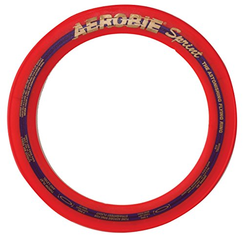 Aerobie 10 Inch Sprint Ring Outdoor Flying Disc - Colors May Vary