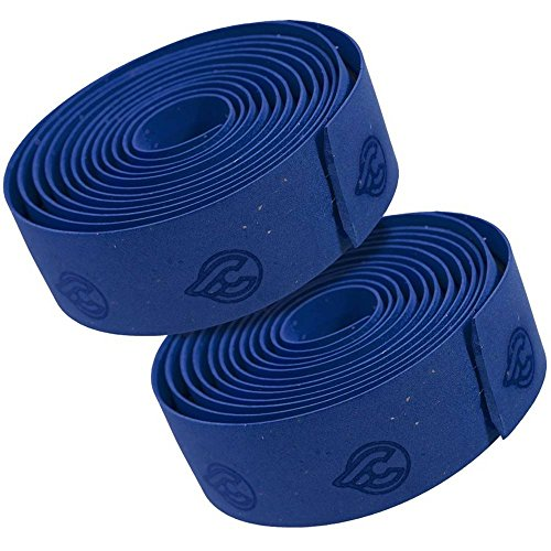 Cinelli Cork Gel Ribbon Handlebar Tape, Blue