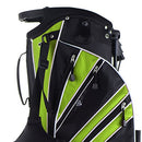 Image of Tangkula Golf Stand Bag w/6 Way Divider Carry Organizer Pockets Storage Sunday Golf Bag(Green)