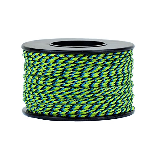 Atwood Mobile Products Micro Sport Cord 1.18mm X 125 Ft Small Spool Lightweight Braided Cord (Aquati