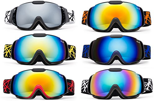 Cloud 9   Professional Kids Boys And Girls Snow Goggles Vulture Anti Fog Dual Lens Uv400 Protection