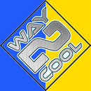 Image of Way 2 Cool Microfiber Cooling Towel for Yoga, Gym, Swimming and Gargening Blue and Yellow