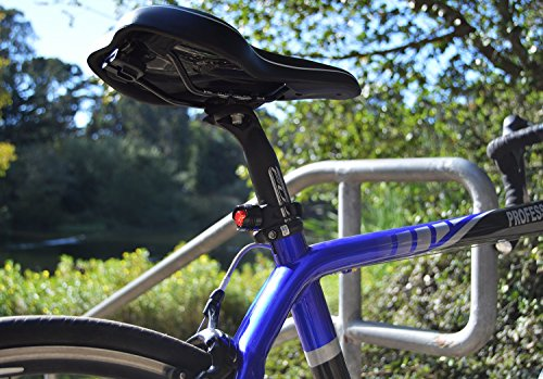 Stupidbright SBR-1 Rear Bike Tail Light Strap-On LED Micro Bicycle Lights