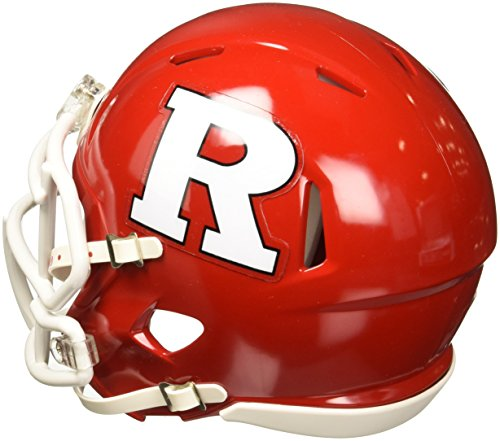 NCAA Rutgers Scarlet Knights Speed Mini Helmet