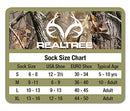 Image of Realtree Boys Merino Boot Socks Pack (2 Pair), Assorted Colors, Small