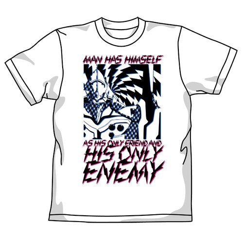 Rebuild of Evangelion first unit ENEMYT shirt White Size: XL (japan import)