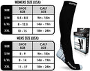 Image of Physix Gear Compression Socks For Men & Women 20 30 Mmhg, Best Graduated Athletic Fit For Running Nu