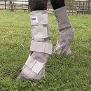 Image of Cashel Crusader Horse Fly Protection Leg Guards, Set of Four, Grey, Mini/Foal