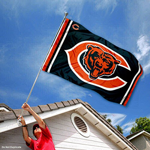 WinCraft Chicago Bears Logos Flag and Banner