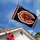 Image of WinCraft Chicago Bears Logos Flag and Banner