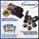 Image of Rip Toned Lifting Straps + Wrist Wraps Bundle (1 Pair of Each) Bonus Ebook for Weightlifting, Xfit, Workout, Gym, Powerlifting, Bodybuilding - Lifetime Replacement Warranty!