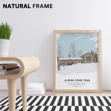 "Load image into Gallery viewer, Custom Home Portrait (Print) Gelato Small (8"" x 10"") Natural"