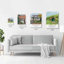 Load image into Gallery viewer, Custom Home Portrait (Print)