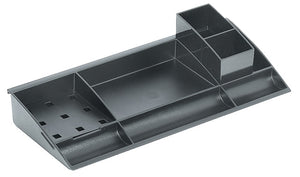A4 Stationery Tray 388x166x95mm Slv CLR