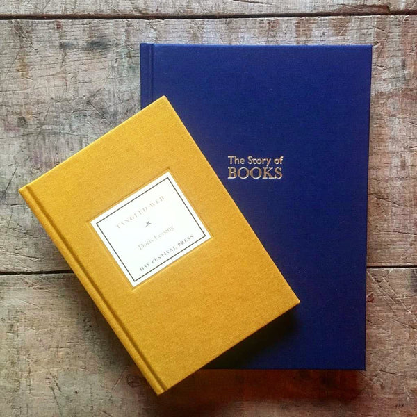 Linen-bound gifts from Hay (short story + notebook)