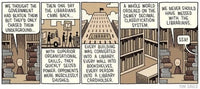 The Snooty Bookshop by Tom Gauld