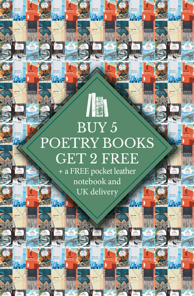 POETRY BUNDLE: BUY 5 GET 2 FREE (+ leather pocket notebook)