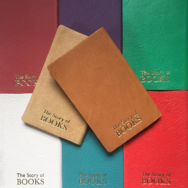 EMBOSSED POCKET LEATHER NOTEBOOKS