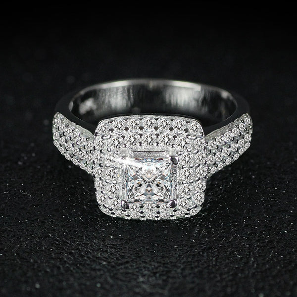 Luxury Sterling Silver Ring