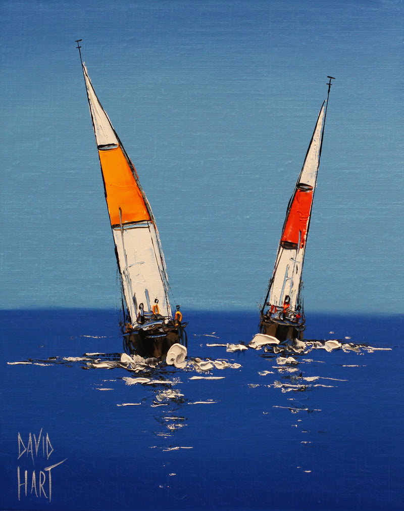 Title: Sailing Boats 134-16, Size: 25 x 20 cm