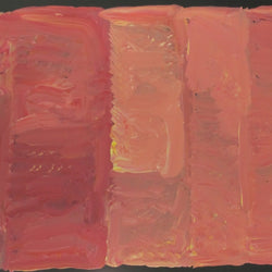 Title:  My Country (pink), size 83 x 53  cm.