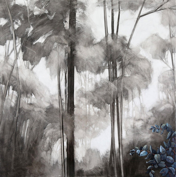 Title: Jewels in the Mist 3, size 90 x 90 cm