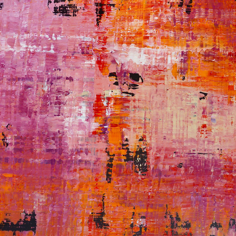 Title:  The Wall 3, 150 x 120 cm.