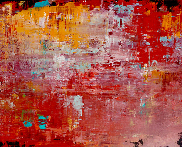 Title:  The Wall 4, 150 x 120 cm.