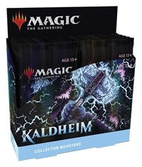 MAGIC THE GATHERING: KALDHEIM COLLECTOR BOOSTER (12CT) 02/05/2021!