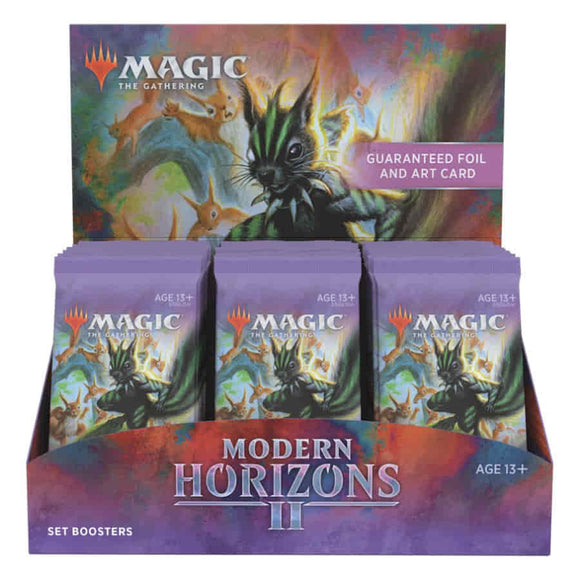 MAGIC THE GATHERING: MODERN HORIZONS 2 SET BOOSTER! JUNE 18TH, 2021!