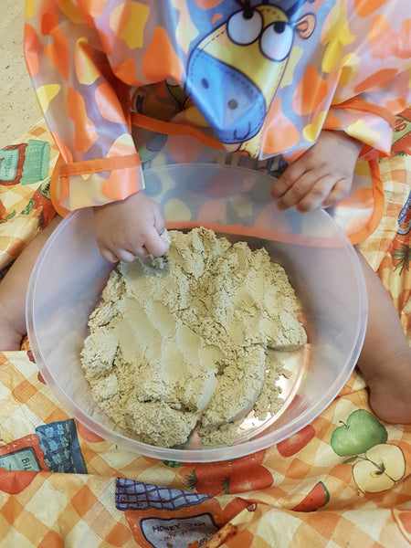 Montessori Activities with my Grandson - Texture